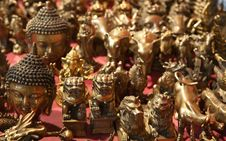 Free Chinese Bronze Souvenirs Stock Photography - 17378912