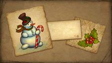 Free Christmas Greeting Card Stock Photos - 17378973