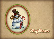 Free Christmas Greeting Card Stock Photography - 17379672