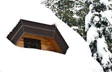 Free Snow Window Royalty Free Stock Photo - 17379685