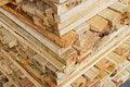 Free Stack Of Lumber In Logs Storage Closeup Royalty Free Stock Images - 17380339
