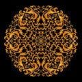 Free Vintage Floral Pattern Stock Image - 17384171