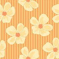 Free Seamless Floral Wallpaper Stock Photo - 17387060