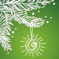 Free Christmas Postcard Stock Images - 17388044