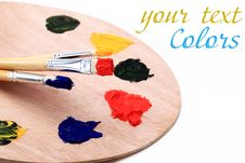 Free Color Paint Stock Photography - 17380022