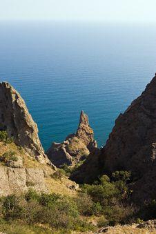Kara-Dag Mountains Stock Image