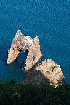 Free Golden Gate Rock In Kara-Dag Mountains Stock Photo - 17380200