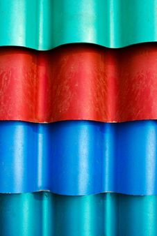 Free Multi Color Roof Tiles Royalty Free Stock Photos - 17380338