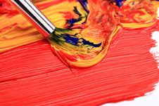 Free Color Paint Royalty Free Stock Photography - 17380457
