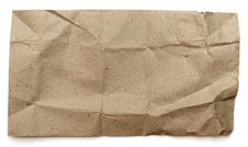 Free Crushed Paper Texture Royalty Free Stock Image - 17380656