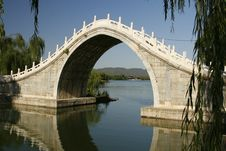 Free Bridge Inside The Summer Palace Grounds Stock Images - 17381704