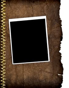 Free Old Paper And Vintage Photo Frame Royalty Free Stock Photography - 17383287