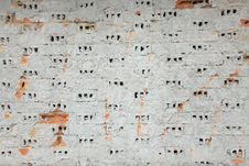 Free Stripped Brick Wall Royalty Free Stock Images - 17384059