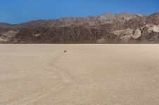 Free Death Valley Race Track Royalty Free Stock Photography - 17384247