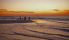 Free Football On The Beach Stock Photography - 17384342