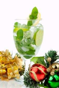 Party Mojito Cocktail Royalty Free Stock Images