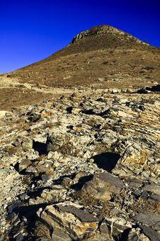 Free Mountain Landscape Stone Stock Image - 17385461