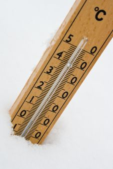 Free Thermometer Royalty Free Stock Photography - 17386567