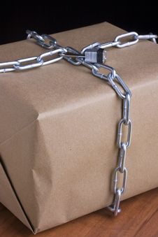 Free Chained Box Stock Photos - 17386593
