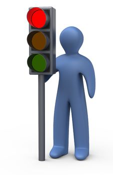 Free Traffic Lights Stock Photo - 17386940