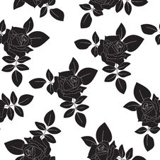 Free Seamless Floral Background Stock Image - 17387121