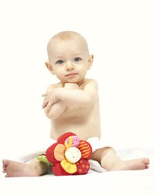 Free Baby Portrait Royalty Free Stock Images - 17387149