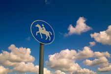 Free Rider In Heaven Royalty Free Stock Photo - 17387675