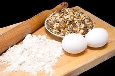 Free Baking Ingredients Stock Photography - 17387712