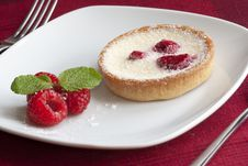 Free Raspberry Tart Stock Photo - 17387950
