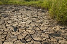 Free Cracked Lifeless Soil Stock Images - 17388814