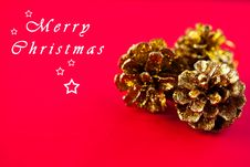 Free Christmas Background Royalty Free Stock Photography - 17388887