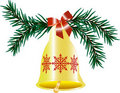 Free Christmas Hand Bell Royalty Free Stock Photography - 17390877