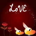 Free Love Wallpaper Stock Photography - 17392192