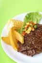 Free Ribeye Steak Royalty Free Stock Image - 17393376
