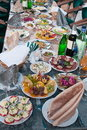 Free Meal And Drinks. Stock Photography - 17395032