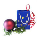 Free Christmas Gift Royalty Free Stock Photography - 17396077