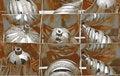 Free Chirsmas Globes Royalty Free Stock Photography - 17396267