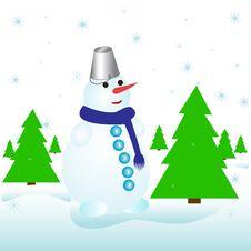 Free Snowman Stock Photo - 17390160