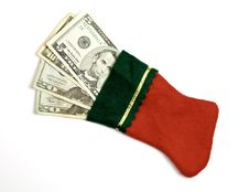 Free Christmas Stocking Stuffer Royalty Free Stock Image - 17390166