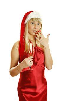 Christmast Toast Stock Photography