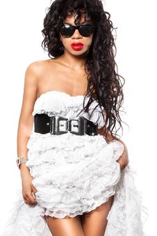 Free Mulatto Girl Royalty Free Stock Photos - 17391198