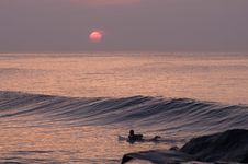 Free Morning Surf Stock Images - 17391594