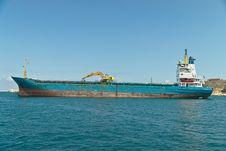 Free Cargo Ship Royalty Free Stock Image - 17393026