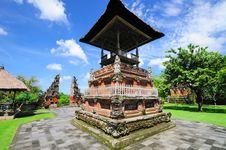 Free Pura Taman Ayun Stock Image - 17393031