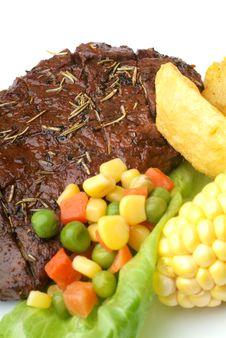 Free Ribeye Steak Stock Images - 17393574