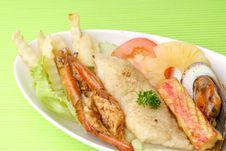 Free Seafood Platter Royalty Free Stock Image - 17393776