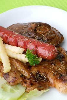 Free Grilled Chicken Steak Stock Photos - 17394073