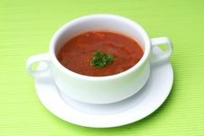 Free Tomato Soup Stock Image - 17394231
