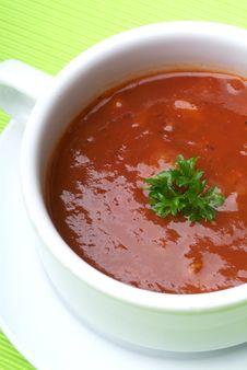 Free Tomato Soup Stock Photography - 17394242