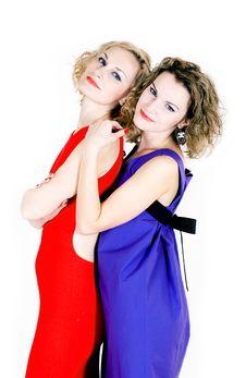 Beauty Sisters Royalty Free Stock Photo